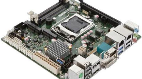 Fujitsu: New Mini-ITX Industrial Mainboard for 24/7 Continuous Service