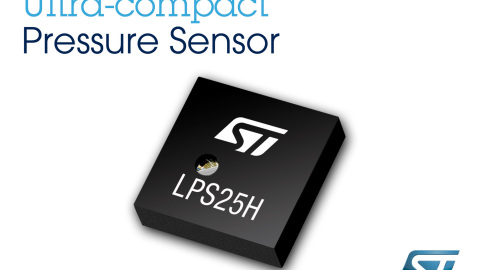 STMicroelectronics – LPS25H low noise pressure sensor