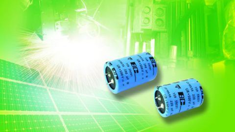 Vishay extends 159 PUL-SI Snap-In Power Aluminum Capacitors with Rated Voltage to 500 V at +105°C