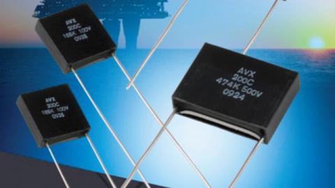 AVX adds three new high voltage ratings to its high temperature, SXP-style, encapsulated, radial leaded SMPS capacitor series