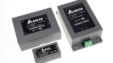 Delta Electronics – introduces the standard 2W to 60W encapsulated AC/DC power modules for industry, transportation, Medical, telecom and datacom applications