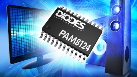 Diodes – 2 x 15W Stereo Class-D Audio Power Amplifier