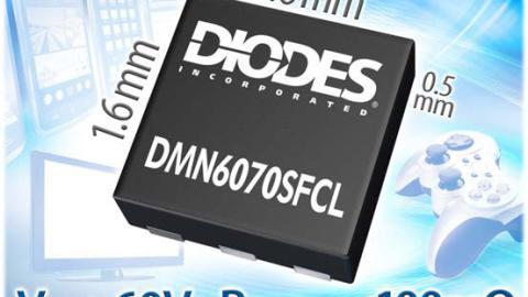 Diodes – 60V MOSFET Boosts Power Density