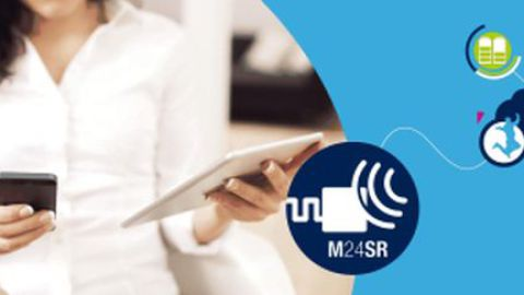 STMicroelectronics – M24SR Series: The simplest and most cost effective way to equip your application with NFC
