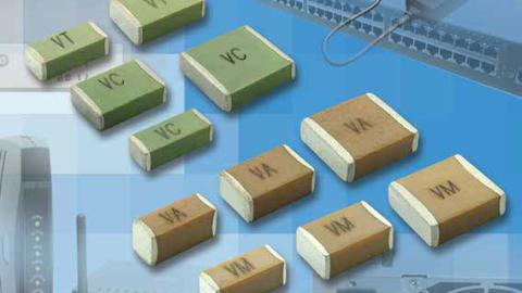 Vishay – MULTILAYER CERAMIC CHIP CAPACITORS. VJ Safety Cer tified Capacitors C0G (NP0) and X7R