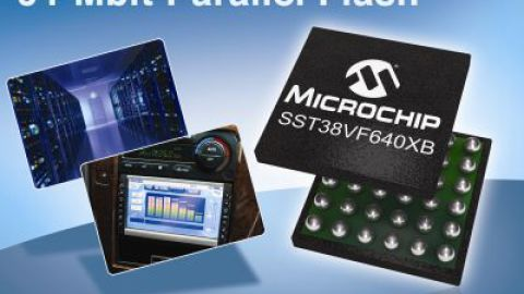 Microchip: Introduces 64-Mbit Parallel Flash Memory Device on Advanced Process Technology