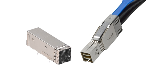 Molex – iPass+ High-Density Interconnect System is Ideal for Large-Scale Storage. First end-to-end copper and optical SAS 3.0 I/O solution with multi-plugging capability
