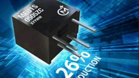 Murata – New 1W DC-DC Converter Package Size Reduced by 26%