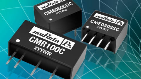 Murata: Lower power, lower cost. New 0.75W CME and CMR series for sub 1W applications