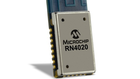 RN4020-V/RM – NEW Bluetooth® 4.1 Low-Energy Module