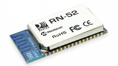 RN52 – Fully Certified Bluetooth Version 3.0 High-Quality Audio Module