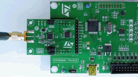 STMicroelectronics – Bluetooth SMART board based on the BlueNRG low energy network processor
