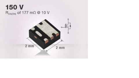 Vishay – Industry's First 150 V N-Channel MOSFET in Thermally Enhanced PowerPAK SC-70 Package
