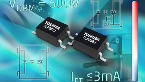 Toshibas Latest Phototriac-Couplers Offer High Voltage Isolation and Low Trigger Currents