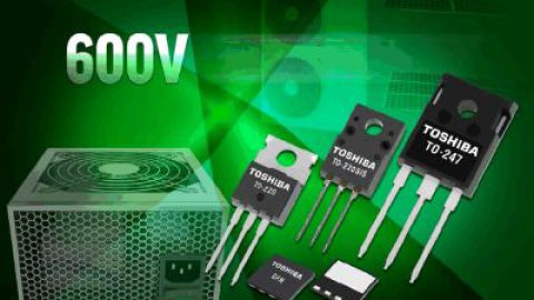 Toshiba: 600V Super Junction MOSFET DTMOS IV-H Series