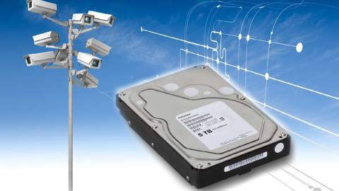 Toshiba – Announces 5TB Surveillance Hard Disk Drive