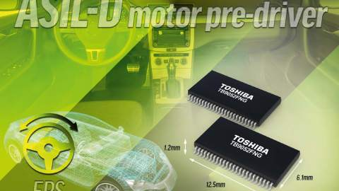 Toshiba – ASIL-D compliant Motor Pre-Driver for Automotive Applications