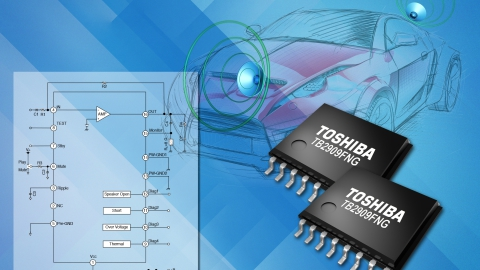 Toshiba – presents Single Chip Audio Power Amplifier