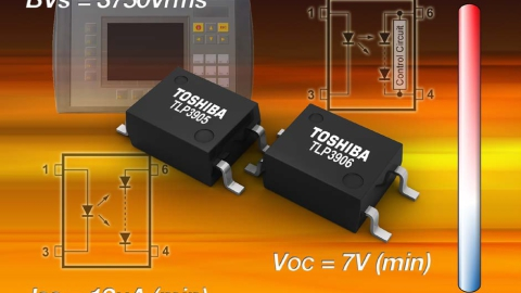 Toshiba – New Photovoltaic Couplers in Small-Size SO6 Packages