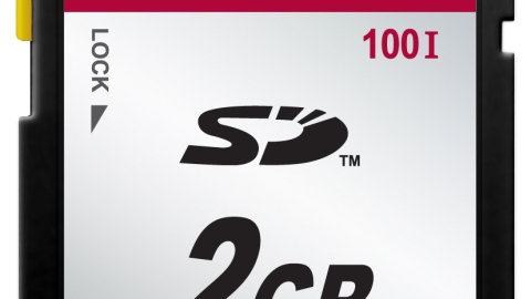 Transcend – New Industrial SD Card Series SD100I / SDHC100I