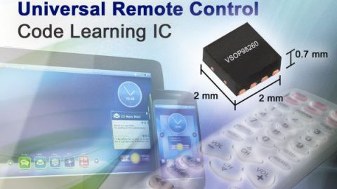 Vishay – New VSOP98260 Remote Control Code Learning IC