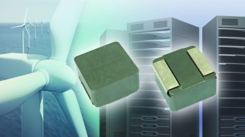 New Vishay IHLP Low-Profile, High-Current Inductor Offers Rated Currents to 100 A in 8787 Case Size