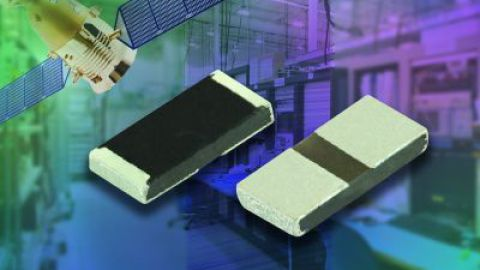 Vishay releases RCP, new thick film chip resistors on AlN substrates for high-power, surface-mount RF applications