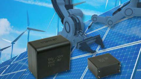Vishay – MKP1848C Metallized Polypropylene Film DC-Link Capacitor