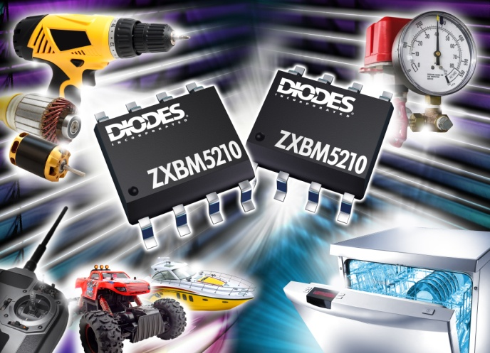 Diodes zxbm5210 high performance single phase reversible for Single phase motor drive
