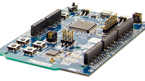 Single board, Arduino Uno shield-compatible dev kit from Nordic Semiconductor supports Bluetooth Smart, ANT, and 2.4GHz designs