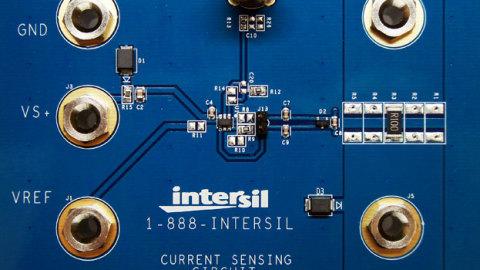 Intersil – ISL28005 Micropower Rail-to-Rail Input Current Sense Amplifier with Voltage Output