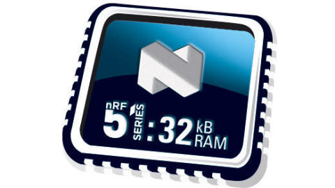 Enhanced nRF51 Series SoCs feature RAM doubled to 32kB for improved application performance and ultra-compact packaging for smaller wearable designs