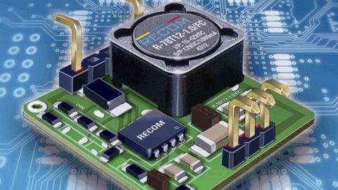 RECOM develops new SMD Switching Regulator Series