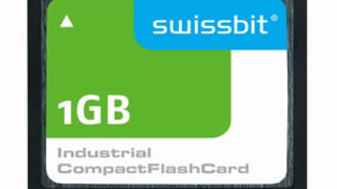 Swissbit – Longevity CompactFlashTM Card with Maximum Long-Term Availability