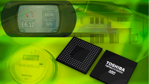 Toshiba Dual-Core Microcontroller Enables Secure Energy Calculation, Sensing And Communications.