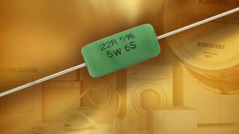 Vishay Releases 5 W Axial Silicone Cemented Fusible Wirewound Safety Resistor