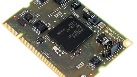 Emtrion – New DIMM-RZ/A1H Module