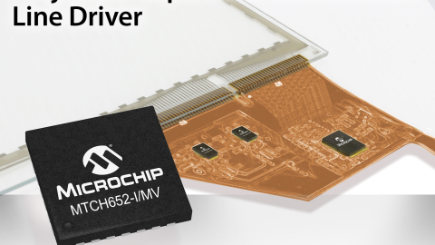 Microchip – High-Voltage Capacitive Touchscreen Line Driver