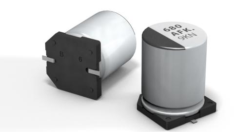 Panasonic – V-FC/V-FK series – SMD Aluminum Electrolytic Capacitor