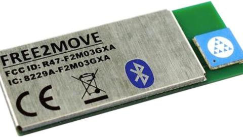 Free2Move – F2M03GXA revision gives embedded Bluetooth® at 1000 metres LoS