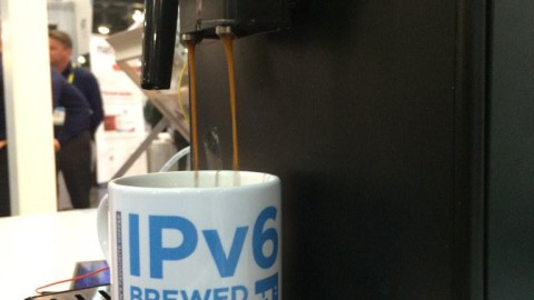 Thirsty? IPv6 Brewed Coffee