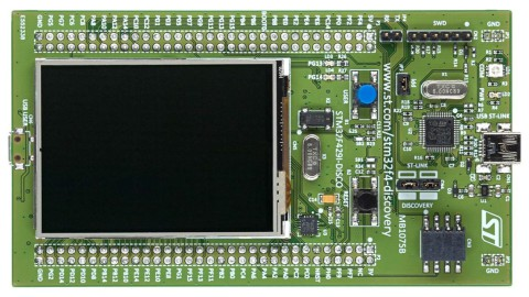 STMicroelectronics – STM32F429 features Chrom-ART Graphics Engine for TFT Drive