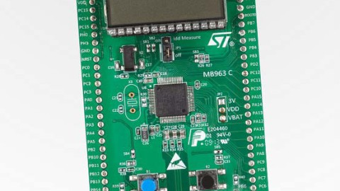 STMicroelectronics – STM32L152 demonstrates Low-Power-LCD Drive
