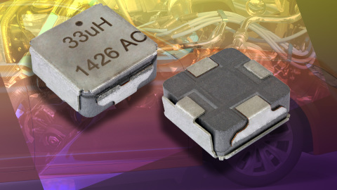 IHLE-4040DC-5A Low-Profile, High-Current Inductor Lowers Costs and Saves Space With Integrated E-Shield