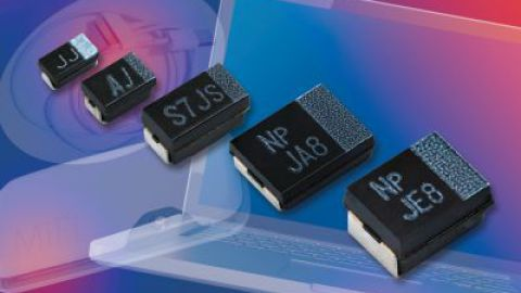 Vishay – New T55 vPolyTan™ Surface-Mount Polymer Tantalum Molded Chip Capacitors Offer Ultra-Low ESR in Compact and Low-Profile Cases