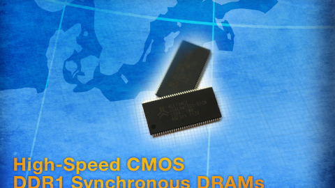 Alliance Memory – High-Speed CMOS DDR1 SDRAMs