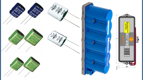 Small Power Modules made by Capacitors