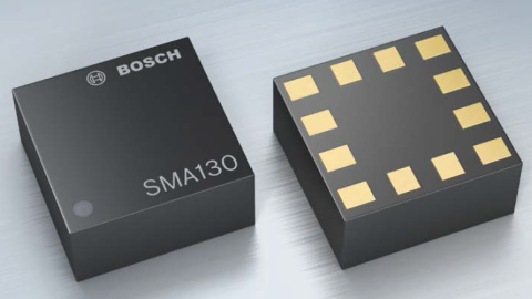 Bosch Automotive Electronics – 3-axis acceleration sensor for motion control in navigation and telematic systems SMA130