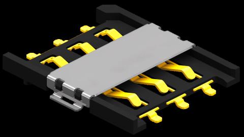Push-Pull Nano SIM holder