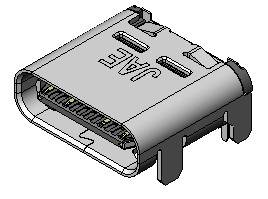 DX07 receptacle top mount